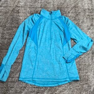 Xersion athletic long sleeve pullover zip …